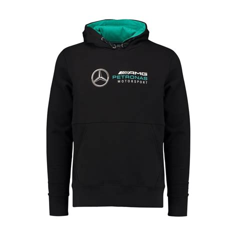 This hoodie from the collection is the perfect example. Official Mercedes AMG Petronas Mens Hoodie Black 2018