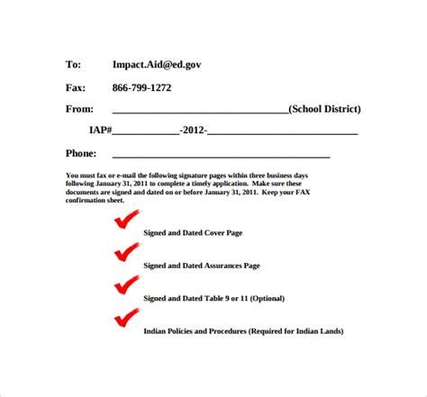 sample basic fax cover sheet templates