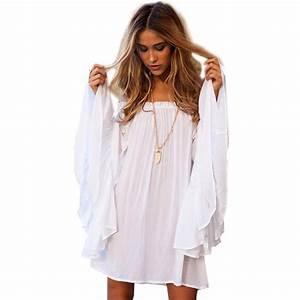 Popular White Flowy Dresses-Buy Cheap White Flowy Dresses ...