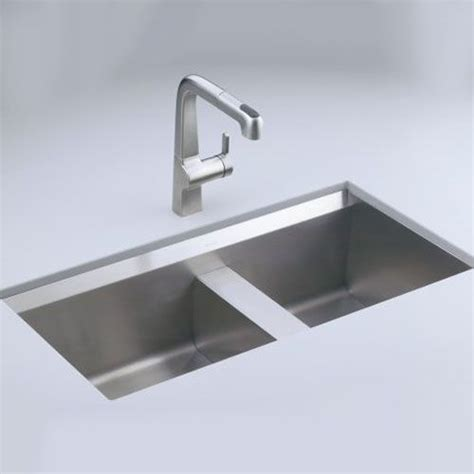Ferguson Kohler Kitchen Sinks by Kohler K3672 Na 8 Degree Stainless Steel Undermount