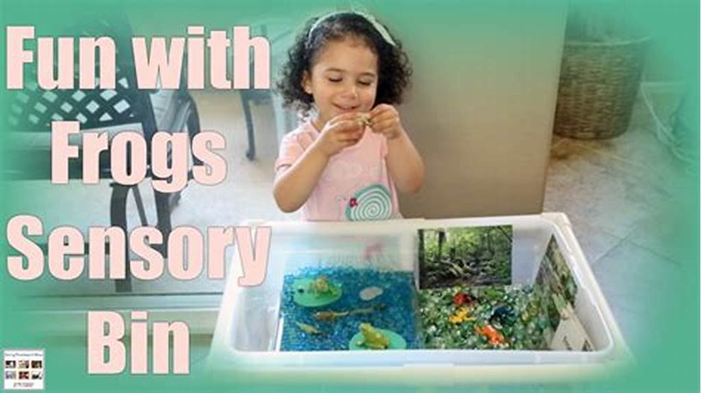 #Lots #Of #Learning #And #Fun #With #Frogs #Sensory #Bin
