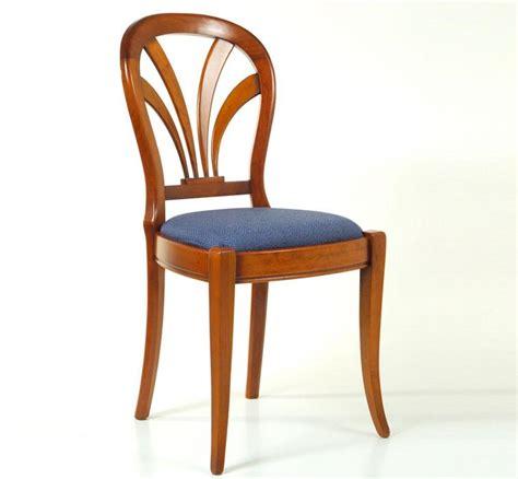 chaises cuisine bois chaise bois assise ronde