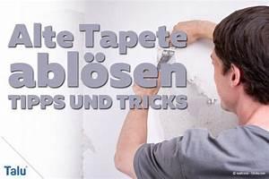 Alte Tapeten Ablösen : hartn ckige alte tapeten von der wand abl sen tipps ~ Watch28wear.com Haus und Dekorationen