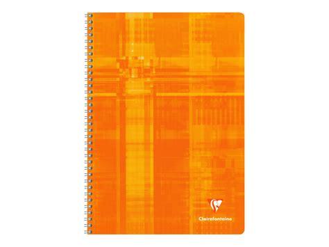 fournitures de bureau bordeaux clairefontaine cahier spirale a4 100 pages grands