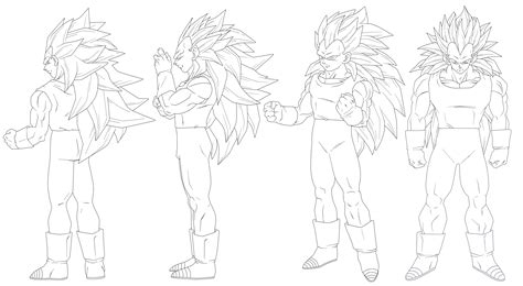 Goku And Vegeta Coloring Pages - Sanfranciscolife