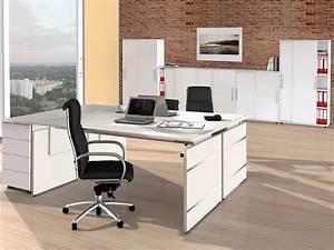 Büroeinrichtung Komplett : doppelarbeitsplatz form 4 komplett schreibtische und ~ Pilothousefishingboats.com Haus und Dekorationen