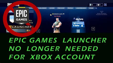 epic account management   added  fortnite  xbox