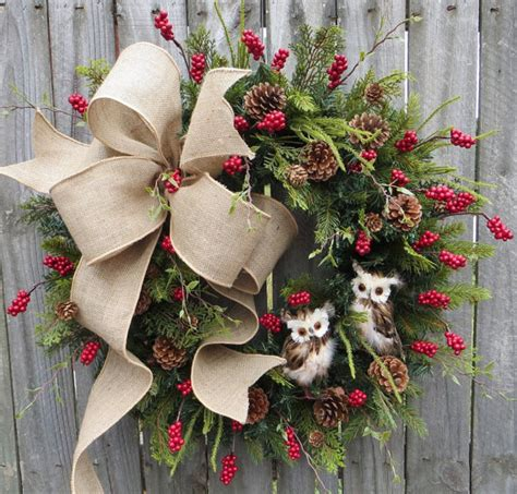 25 christmas wreaths decorate your outdoors and offer an