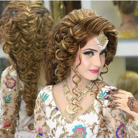 hair wedding style kashee s bridal makeup hairstyle ideas 2016 style collectx 8362