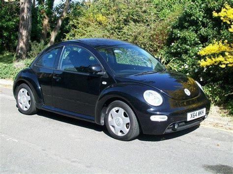 black volkswagen beetle used volkswagen beetle 2001 petrol 2 0 3dr hatchback black