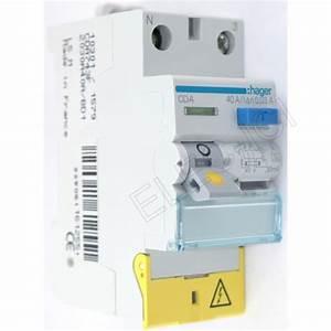 Interrupteur Differentiel Hager 63a Type Ac : interrupteur differentiel 63a 30ma type ac cdc764f hager ~ Edinachiropracticcenter.com Idées de Décoration