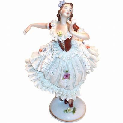 Ballerina Dresden Porcelain Figurine Germany