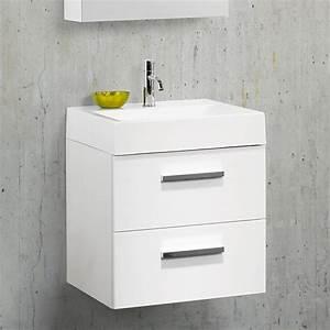 Waschtisch 35 Cm Tief Mit Unterschrank : waschtisch 50 cm breit km01 hitoiro ~ Bigdaddyawards.com Haus und Dekorationen