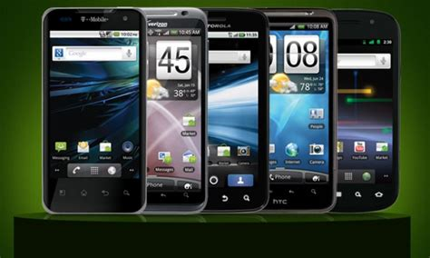 compare android phones 5 best android mobile phones of year 2012 android cus