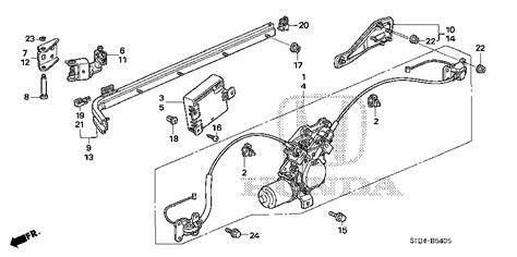 free download parts manuals 2001 honda odyssey instrument cluster sliding door parts 2006 honda odyssey sliding door parts diagram