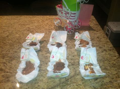 Baby Shower Candy Bar Diaper Game