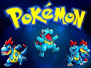 Totodile Evolution Poster By Wadehimself On Deviantart