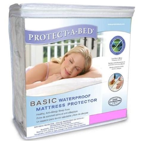 protect a bed premium mattress protector protect a bed basic size waterproof protector