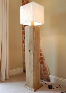 Wandlampe Selber Bauen : extravagante designs von stehlampe aus holz ~ Lizthompson.info Haus und Dekorationen