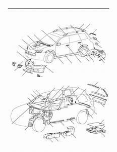 Mitsubishi Outlander Parts Diagram