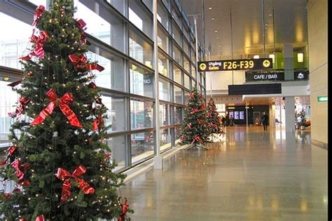 christmas   airport  glance   years top