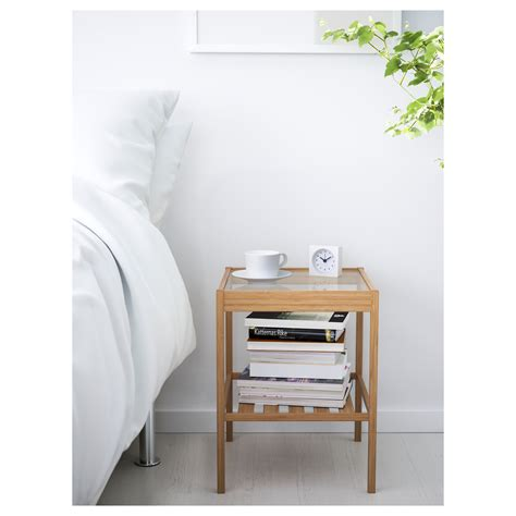 small table ls for bedroom nesna bedside table 36x35 cm ikea
