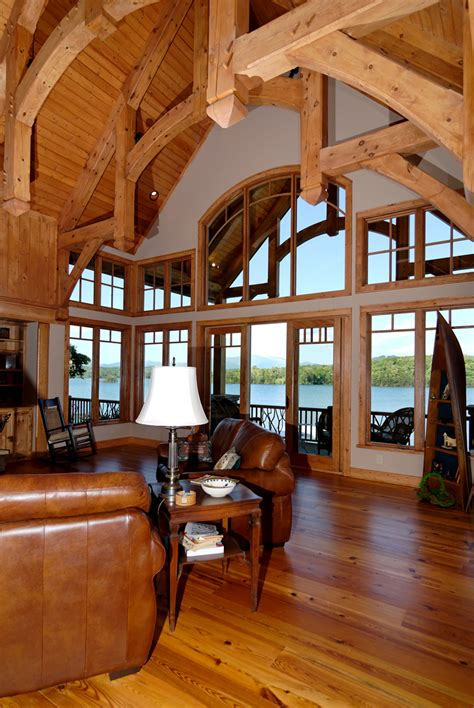 house plans with vaulted great room mountain home plan great room photo 01 plan 082s 0001 house plans and more