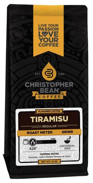 I was having dinner with my l.a. Tiramisu Flavored Coffee - Christopher Bean Coffee Company