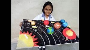 My 3d Solar System Model