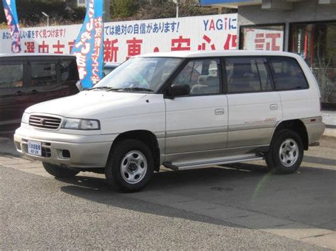 how make cars 1995 mazda mpv electronic toll collection mazda efini mpv granz type g four 1995 white gold 66 524 km details japanese used cars