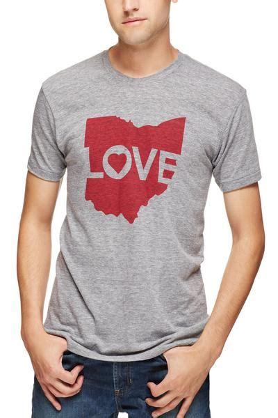 ohio love logo unisex crew cle clothing