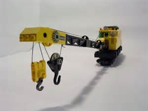 LEGO Railroad Crane