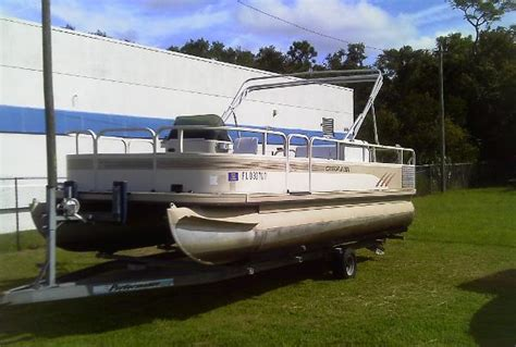 Pontoon Boats For Sale Crystal River Fl by Crestliner 20 Pontoon Boats Used In Crystal River Fl Us