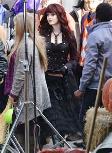 monsterville the cabinet of souls katherine mcnamara filming quot monsterville the cabinet of