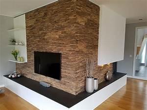 Wohnzimmer Wand Holz : holzwand wohnzimmer ~ Lizthompson.info Haus und Dekorationen