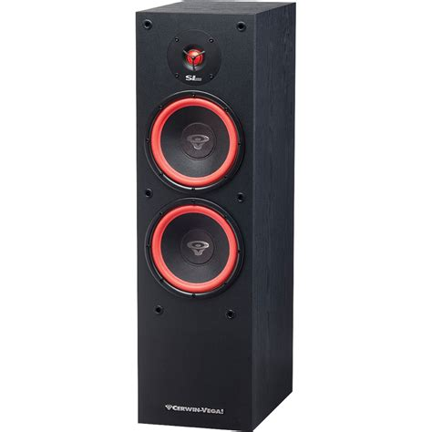 used cerwin floor speakers cerwin sl 28 dual 8 quot 2 way floor tower speaker sl 28