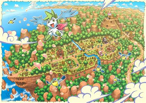 10 New Pokemon Mystery Dungeon Background Full Hd 1080p