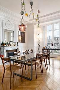 Salle A Manger Chic : appartement haussmannien classique chic salle manger paris par fran ois guillemin ~ Nature-et-papiers.com Idées de Décoration