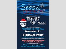 Seas & Greetings with Santa and the Pensacola Ice Flyers