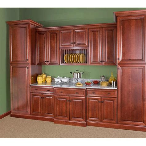 48 Inch Cabinet by Cherry Stain Chocolate Glaze 48 Inch Wide Blind Base