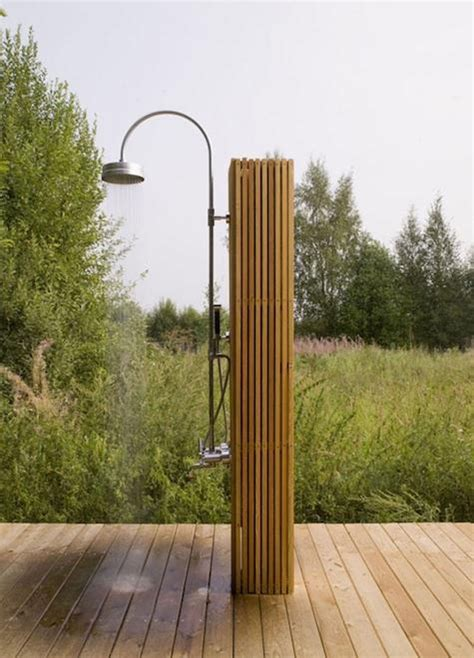 Simple Outdoor Shower  Gardening & Outdoors Pinterest