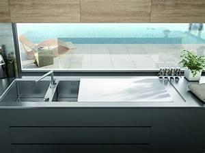 Emejing lavelli da cucina in acciaio photos for Lavelli da cucina franke