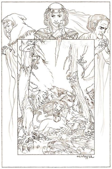 The Neil Gaiman Coloring Book new charles vess drawings for neil gaiman s stardust tor