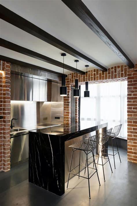 cuisine loft industriel 12 concepts de cuisine moderne vus par des designers