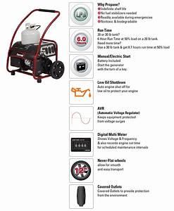 Powermate 5 500 Electric Start
