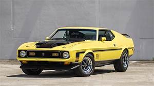 1971 Ford Mustang Mach 1 Fastback | F44 | Monterey 2016