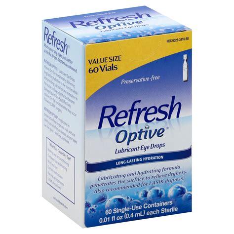Refresh Optive Lubricant Eye Drops - Shop Eye Drops ...