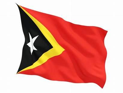Timor Flag East Flags Country Fluttering Mediamass