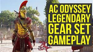 Assassin's Creed Odyssey Gameplay - LEGENDARY GEAR SET In ...
