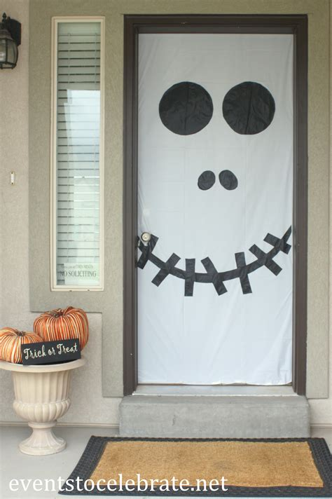 halloween door window decorations   celebrate